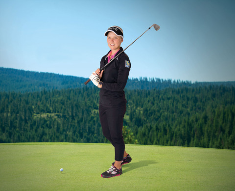 Brooke Henderson wearing Skechers GO GOLF footwear. (Photo: Business Wire)