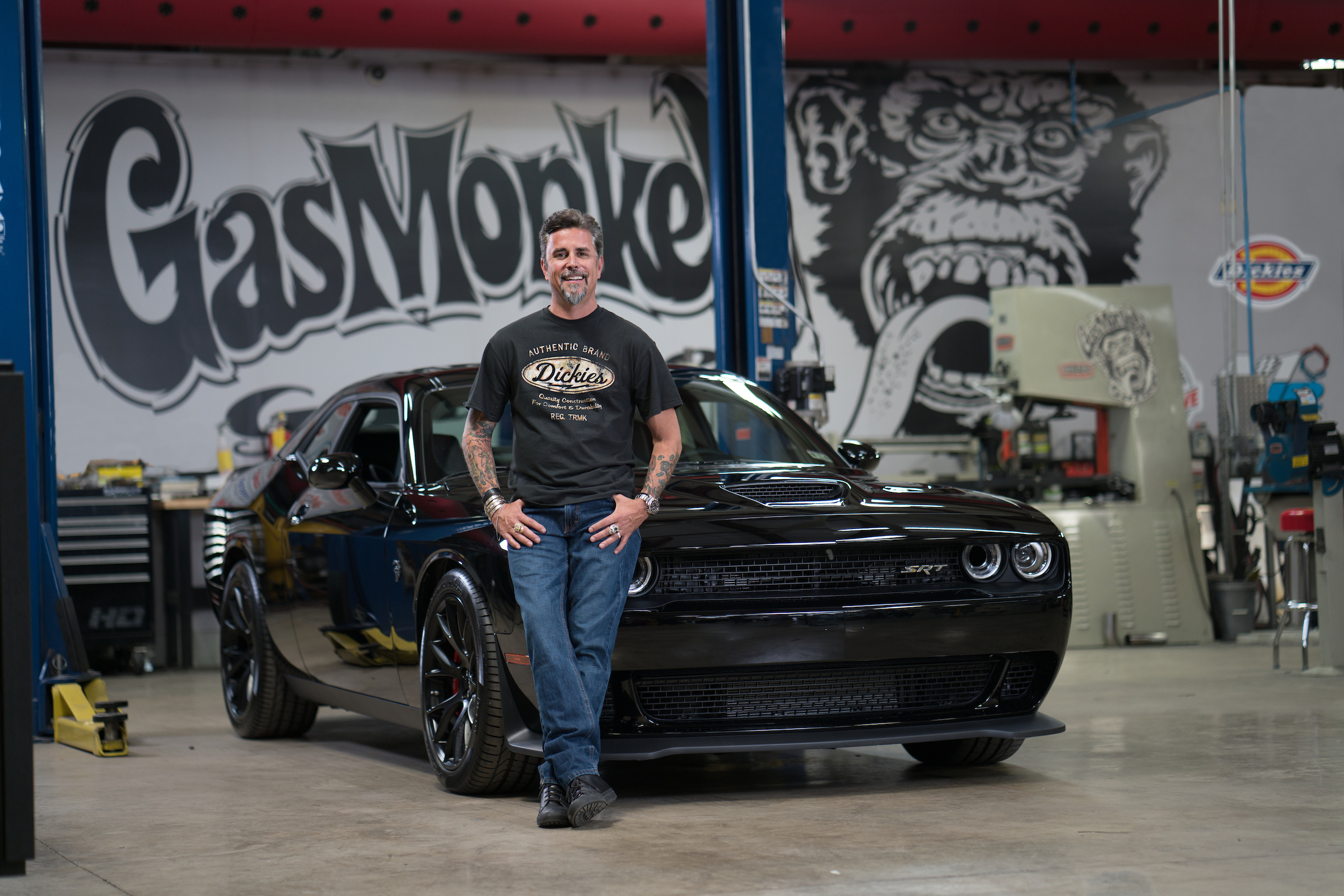 dickies teams up with fast n loud s richard rawlings and gas monkey garage business wire. Black Bedroom Furniture Sets. Home Design Ideas