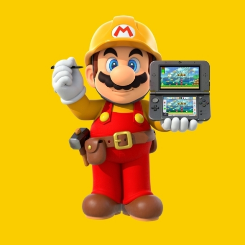 Now Nintendo 3DS owners will have access to a near-unlimited wealth of Super Mario courses to play! Players can also create courses with nearly all the tools available in the original Wii U version, along with interactive lessons. (Photo: Business Wire)