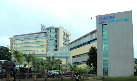 Newly 509 bed Aster CMI Hospital, Bangalore - India (Photo: ME NewsWire)