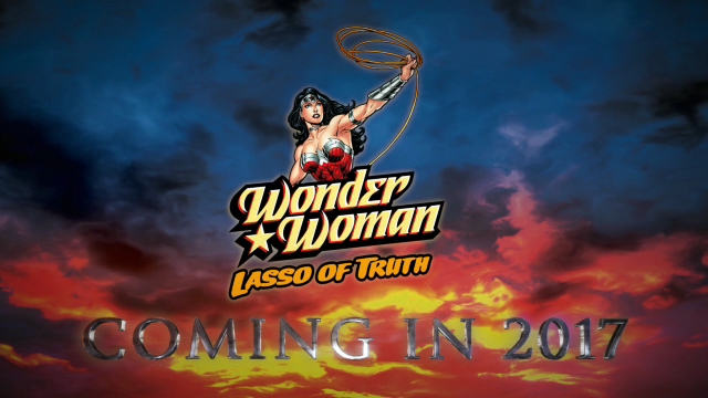 WONDER WOMAN Lasso of Truth to soar over Six Flags America in 2017.