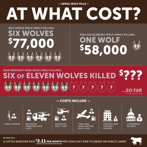 Aerial Wolf Kills: At What Cost? (Graphic: Business Wire)