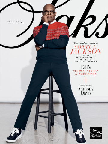 SAKS FIFTH AVENUE'S FALL 2016 MAGALOG: MEN'S COVER (Photo: Business Wire)