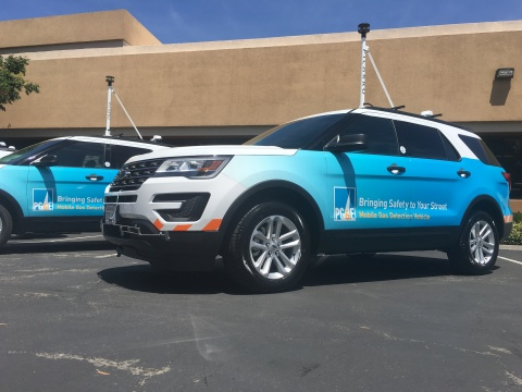 PG&E recently completed its one millionth leak detection inspection using vehicle-mounted methane-detection technology that is 1,000 times more sensitive than traditional equipment. (Photo: Business Wire)