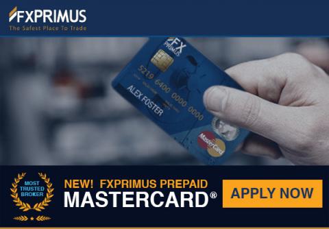 FXPRIMUS Prepaid MasterCard (Photo: Business Wire)