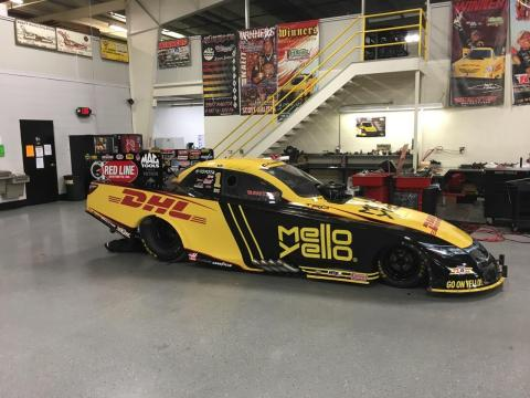 Mello Yello celebrates 50th anniversary of National Hot Rod Association's (NHRA) Funny Car series with co-branded car competing in this weekend's race. (Photo: Business Wire)