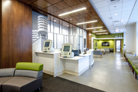 Rush River North Medical Center Interior Lobby (Photo: Business Wire)