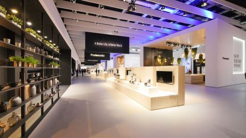 Panasonic booth at IFA2016 (Photo: Business Wire)