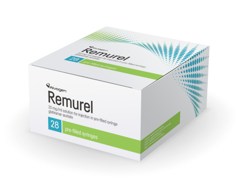 Remurel (glatiramer acetate), the first generic equivalent of Copaxone (Photo: Business Wire)
