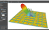 Empire XPU simulation model of 5G antenna frontend module (Photo: Business Wire)