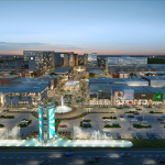 Dania Pointe View from I-95 (Business Wire)