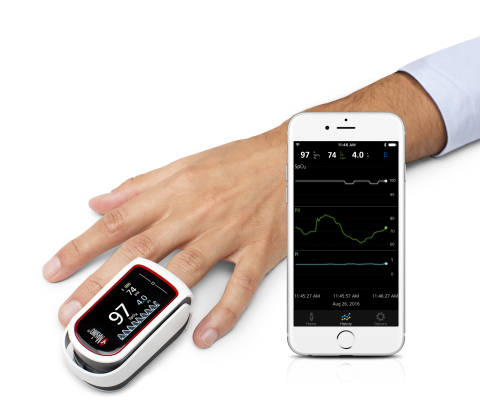 Masimo MightySat and Personal Health App (Photo: Business Wire)