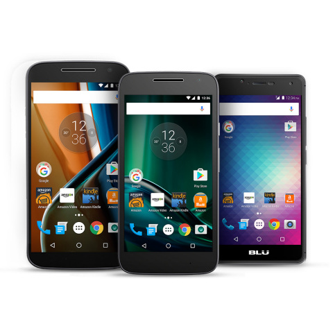 Amazon's Prime Exclusive Phones (Photo: Business Wire)