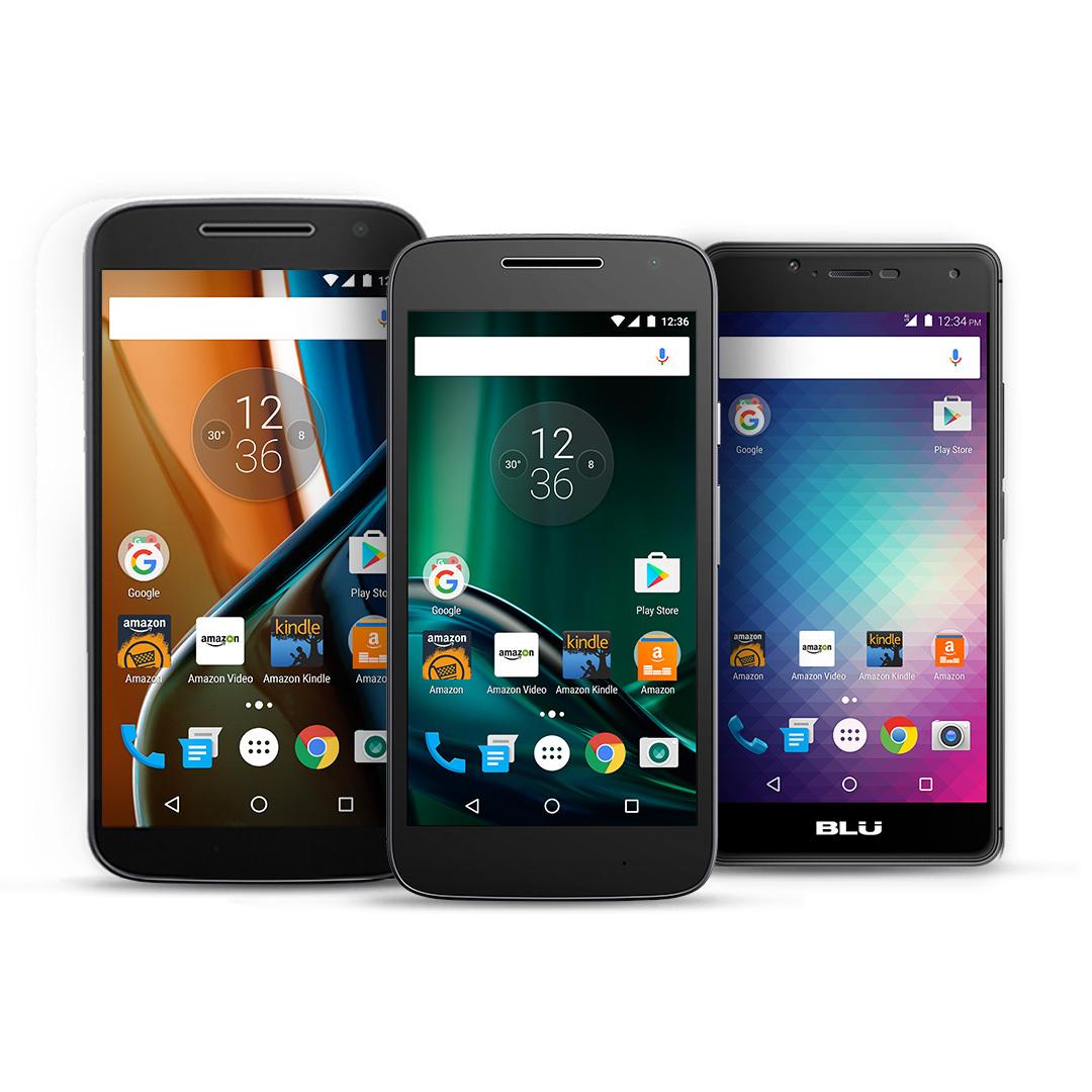 Amazon's Prime Exclusive Phones (Photo: Business Wire)