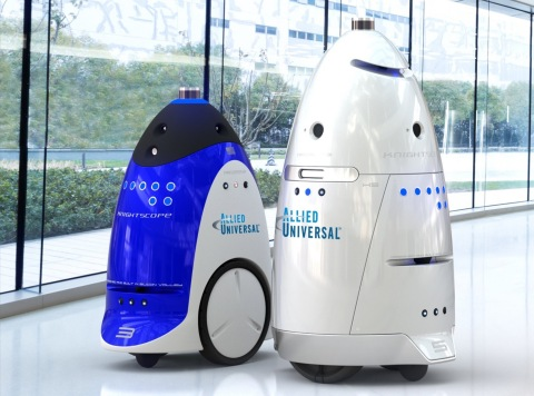 Knightscope Autonomous Data Machines (ADMs) will provide security at ASIS 2016 in Orlando, FL. (Photo: Business Wire)