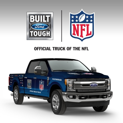 ford f series now official truck of the nfl celebrating. Black Bedroom Furniture Sets. Home Design Ideas