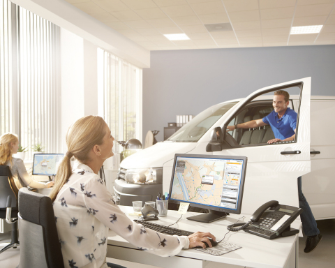 TomTom Telematics - Europe's leading fleet management solutions provider (Photo: Business Wire)