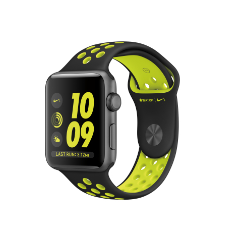 Apple Watch Nike+ Features Apple Watch Series 2, Exclusive Nike Sport Bands and the All-New and Deeply Personalized Nike+ Run Club App (Photo: Business Wire)