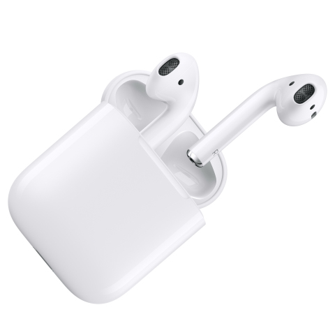 AirPods are innovative new wireless headphones that use advanced technology to reinvent the wireless headphone.  (Photo: Business Wire)