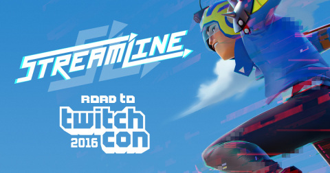 Twitch announced the Streamline Road to TwitchCon Tournament featuring Streamline, an upcoming game built from the ground up for streamers. (Graphic: Business Wire)