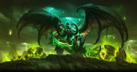 Though Gul'dan and the Burning Legion seek the complete destruction of Azeroth, there is hope yet! Heroes of the Horde and the Alliance have rallied together to drive back this demonic invasion in World of Warcraft: Legion™. (Graphic: Business Wire)