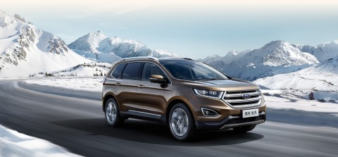 A key driver of Ford's growth in Asia Pacific this year has been its growing SUV lineup with sales u ...