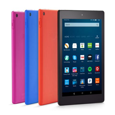 All-New Amazon Fire HD 8 (Photo: Business Wire)