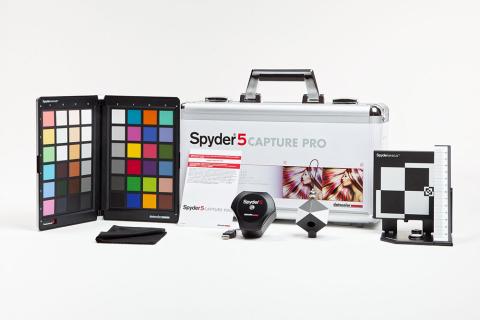 Datacolor Spyder5 CAPTURE PRO(照片:美国商业资讯)