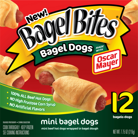 Bagel Bites Bagel Dogs - Great for Snacking (Photo: Business Wire)