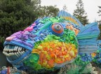 A 9-foot-long Parrot Fish named Priscilla, made entirely from marine debris, will greet visitors to the U.S. State Department's 'Our Ocean Conference' this week calling attention to the marine debris problem facing the world's oceans. (Photo: Business Wire)