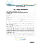 ALKERMES™ Inspiration Grants Application