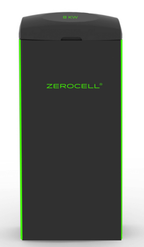 The ZEROCELL is a multi-functional appliance that serves as the nerve center for an open-source smart digital IoT ecosystem. A plug-and-play system that seamlessly transforms both existing and new homes into smart zero energy homes, the ZEROCELL stores and manages energy generated from either on-site-harvested energy or from off-site renewable energy transmitted by the electric grid. The ZEROCELLs (4KW, 8KW, 12KW and 16 KW) are multi-functional appliances that are all-in-one energy storage and nerve systems for homes, buildings and block-chain neighborhoods. The ZEROCELL manufacturing network spans five continents with global distribution. ZEROCELL WORLDWIDE INC. commercializes innovative and disruptive technologies developed by HOUZE and other global leading companies. (Graphic: Business Wire)