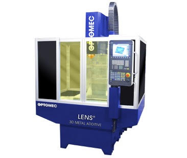 The LENS Machine Tool Series integrates Optomec's industry-proven, metal 3D printing technology into standard CNC machine tool platforms providing lower-cost, higher-value metal additive manufacturing and hybrid solutions. (Photo: Business Wire)