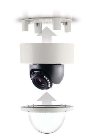 MegaDome 4K easy installation design (Photo: Business Wire)