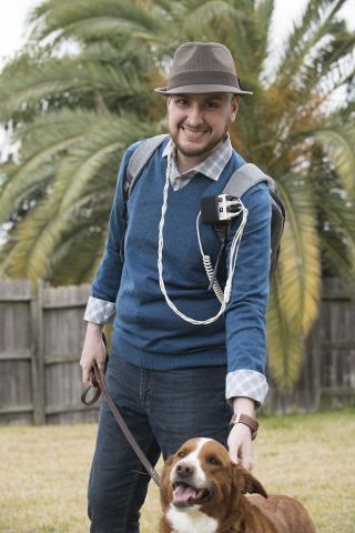 Martin Romero Sanchez of Houston, Texas, is an Optune patient.