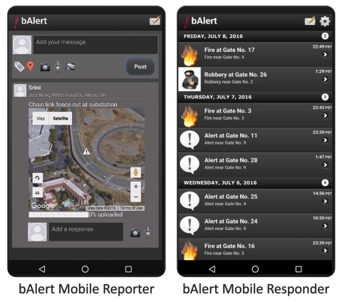 bAlert IoT Security Commander from AlertEnterprise is the perfect See Something, Say Something App that ties back to the Global SOC delivering instant situational awareness (Graphic: Business Wire)