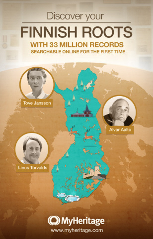 MyHeritage Releases Most Significant Collection of Finnish Historical Records Ever Published Online (Photo: Business Wire)
