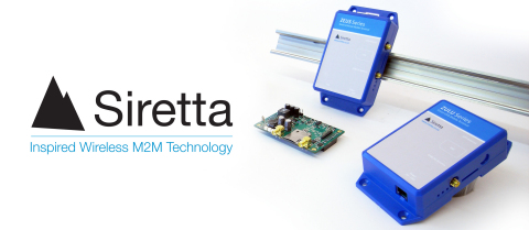 Siretta wireless terminals (Photo: Siretta).