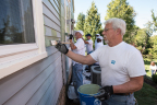 PPG employee volunteers completed a COLORFUL COMMUNITIES project that helped to revitalize and restore the Thomas Edison Birthplace Museum in Milan, Ohio. (Photo: Business Wire)