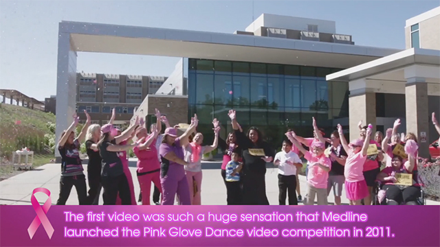Voting for the Medline Pink Glove Dance video competition is open. Help determine which breast cancer related charities will receive a donation on behalf of the winning teams.