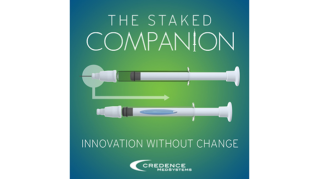 The Credence Companion Safety Syringe System