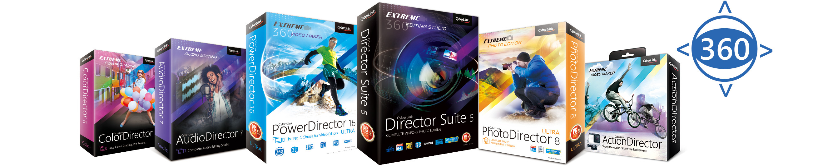 CyberLink Introduces PowerDirector 15 and Enables Complete Media