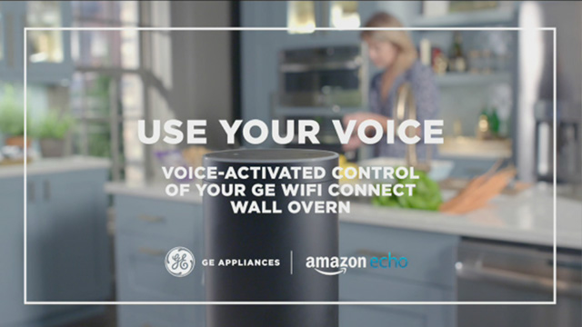 Use your voice: voice activated control of your GE Wi-Fi Connect wall oven
