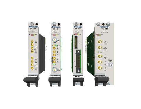 NI and Astronics Test Systems introduce new suite of PXI test instruments for mil/aero programs (Photo: Business Wire)