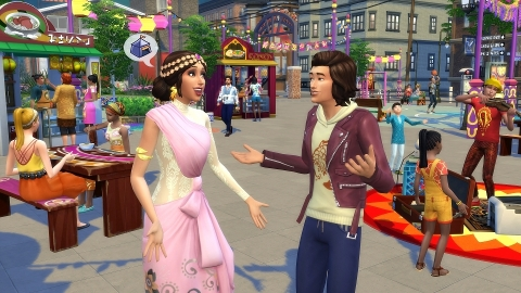 EA Announces New City Living Expansion Pack for The Sims™4 (Graphic: Business Wire)