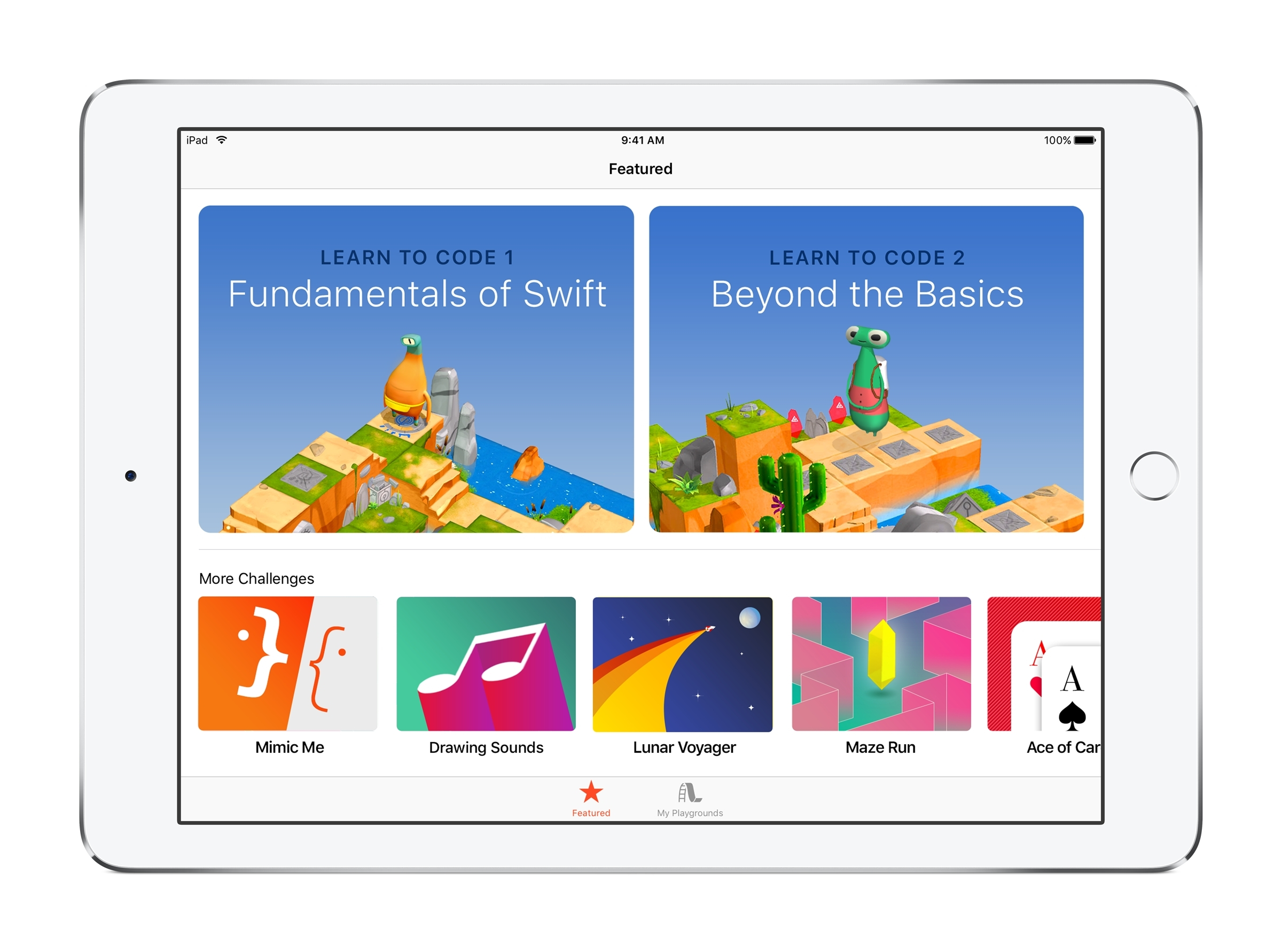 Swift Playgrounds Now Available on the App Store | Business Wire