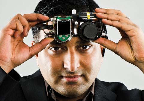 Ramesh Raskar, 2016 $500,000 Lemelson-MIT Prize Winner. Photo Credit: Len Rubenstein
