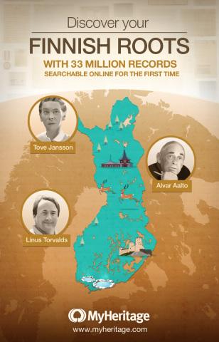 MyHeritage släpper en betydande samling av Finska historiska dokument aldrig tidigare publicerade on ...