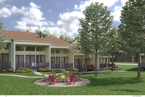 Twenty-nine villas will be added to the Grand Geneva campus (Photo: Business Wire)