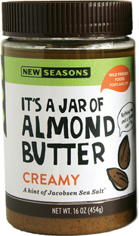 New Seasons Market Creamy Almond Butter (Photo: Business Wire)